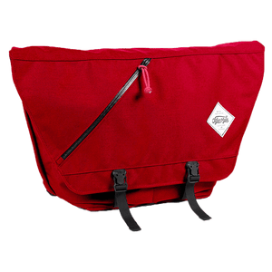 Messenger Bag Firehouse Red Junction City Messenger - Full