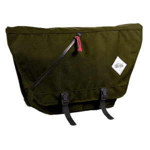 Messenger Bag Olive Green Junction City Messenger - Full