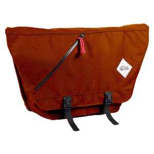 Messenger Bag Rust Orange Junction City Messenger - Full