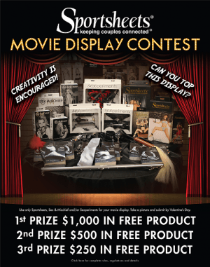 Sportsheets Must-See Movie Display Contest