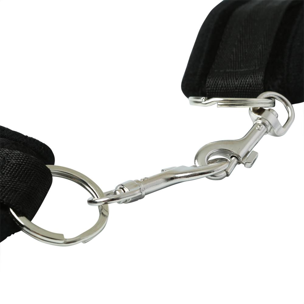 Black Beginner's Handcuff Cuffs