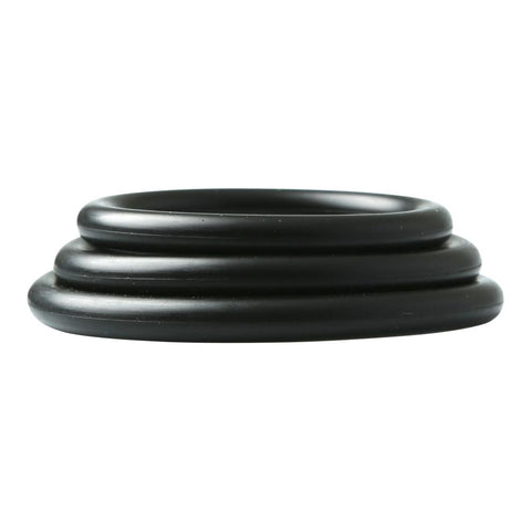 Rubber Cock Rings, Set of 3 Cock Rings