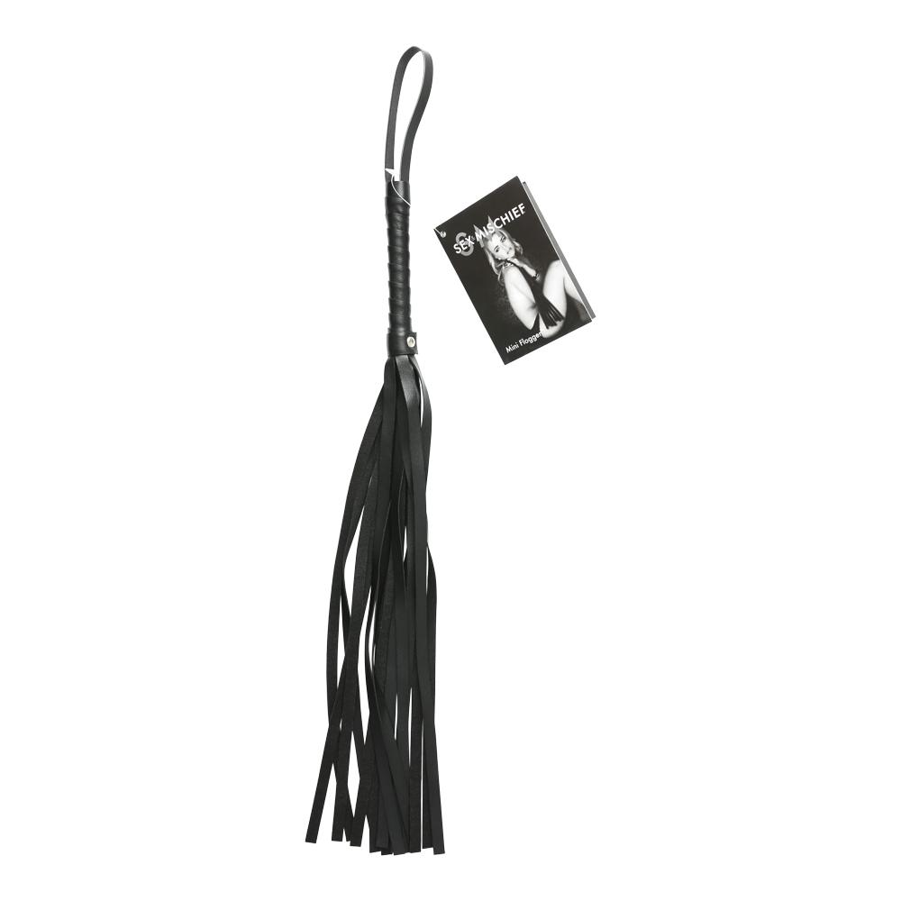 Mini Faux Leather Flogger