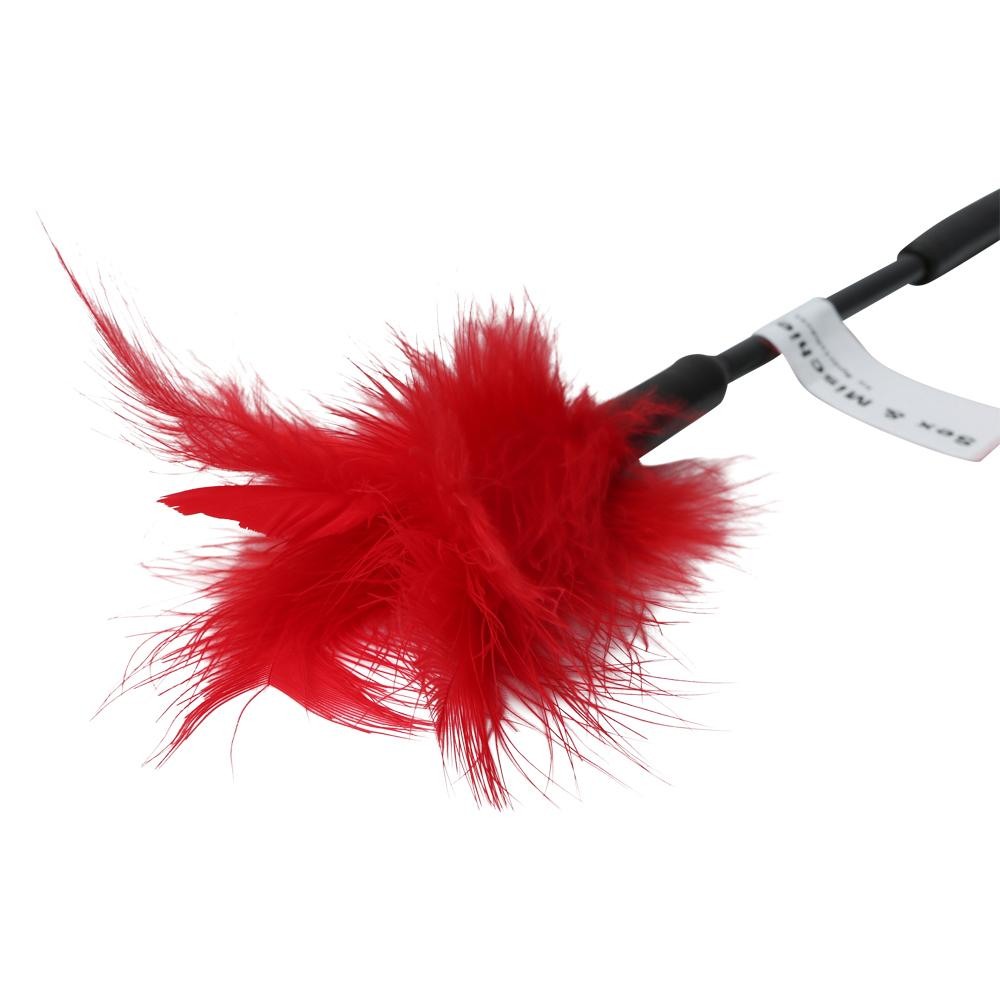 "Feather Ticklers 7"" Red Ticklers"