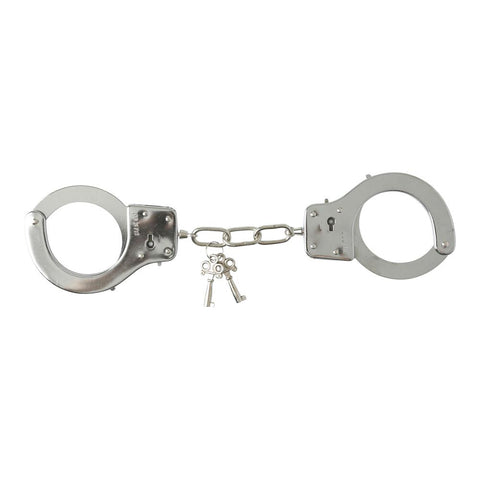 Image of Classic Metal Handcuffs Cuffs