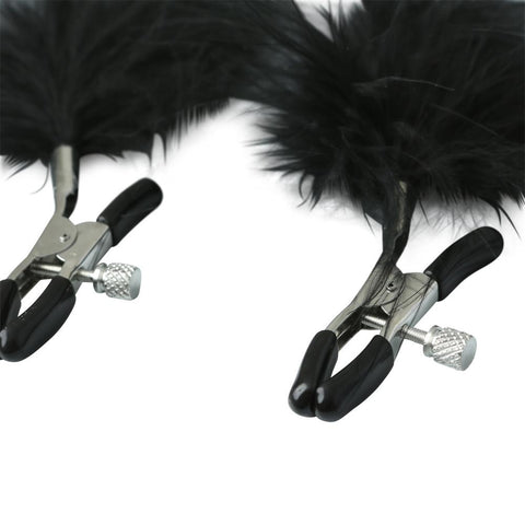 Image of Feathered Nipple Clamps Nipple Clamps