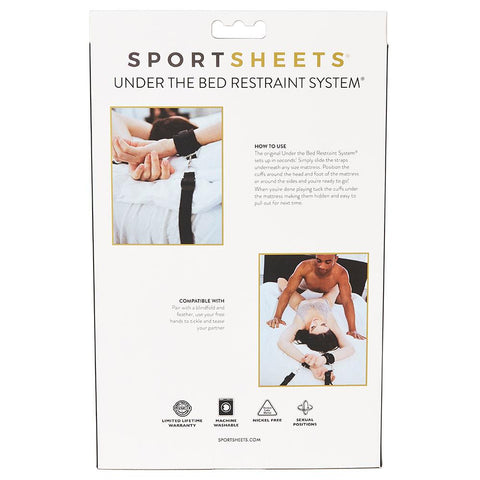 Image of Under the Bed Restraint System® Bondage