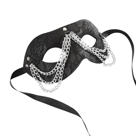 Image of Chained Lace Mask Mask