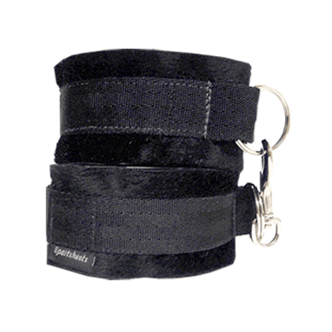 Soft Wrist Cuffs, Black Cuffs