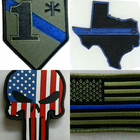 Blue Line Patches