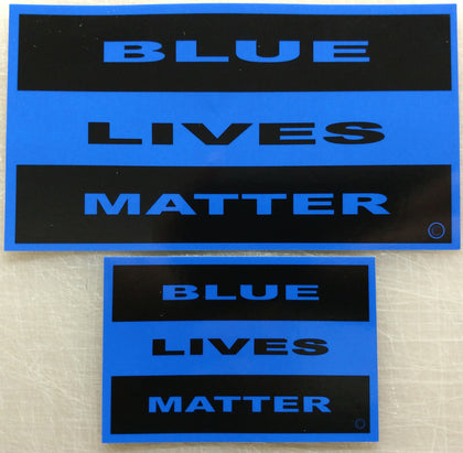Blue Line Decals