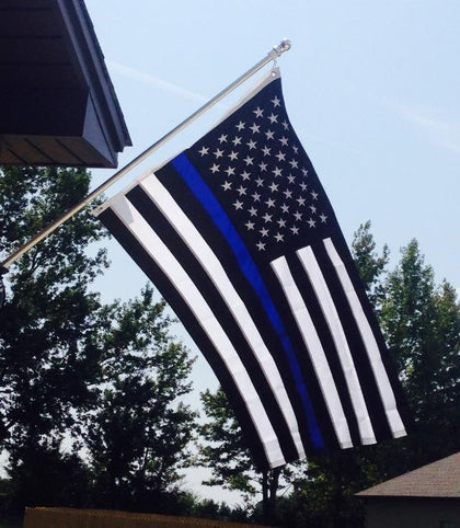 Blue Line Flags
