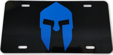 Spartan License Plate - FrontLine Designs, LLC