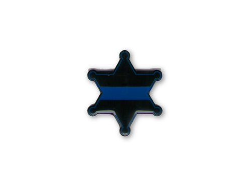 6-Point Sheriff's Badge Lapel Pin / Tie Tack - FrontLine Designs, LLC