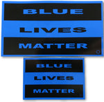 Blue Lives Matter Reflective Decal - FrontLine Designs, LLC