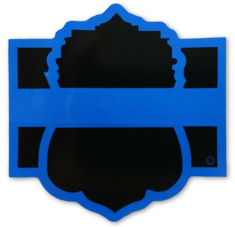 Blue Line San Antonio Reflective Decal