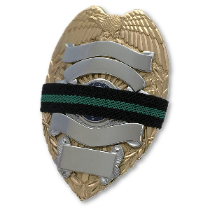 Green Line Mourning Bands BOGO - FrontLine Designs, LLC