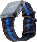 Blue Line Apple Watch Band