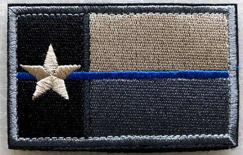 Texas State Flag Blue Line Patch - FrontLine Designs, LLC