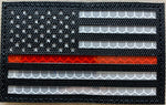 US Flag Reflective Patch