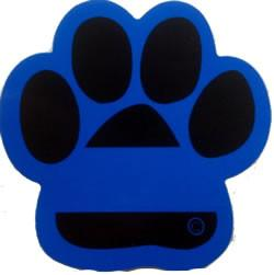 Decal - Blue Line Paw