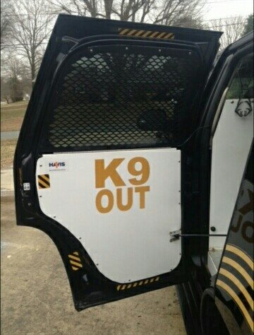 Decal - K9 Bail Out Door Notice