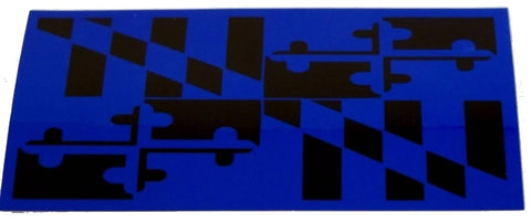 Maryland Blue Line Decal - FrontLine Designs, LLC