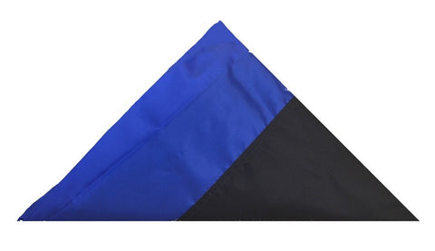 Blue Line Nylon Casket / Ex-Large Outdoor Flag - FrontLine Designs, LLC