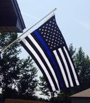 US Blue Line Flag - FrontLine Designs, LLC