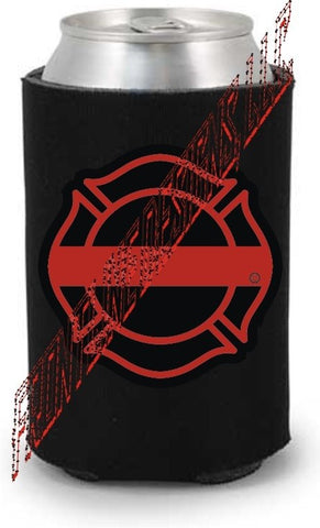 Red Line Maltese Can / Bottle Koozie - FrontLine Designs, LLC