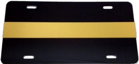 Gold Line License Plate - FrontLine Designs, LLC
