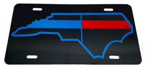 North Carolina State Public Safety License Plate - FrontLine Designs, LLC