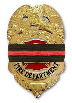 Red Line Mourning Bands - FrontLine Designs, LLC