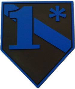 Blue Line  1*  2D Subdued Patch - FrontLine Designs, LLC