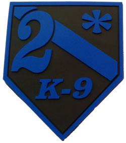 Blue Line  2*  2D Subdued Patch - FrontLine Designs, LLC