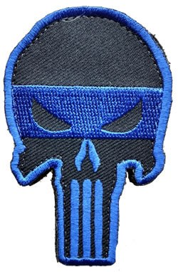 Blue Line Defender Patch - FrontLine Designs, LLC