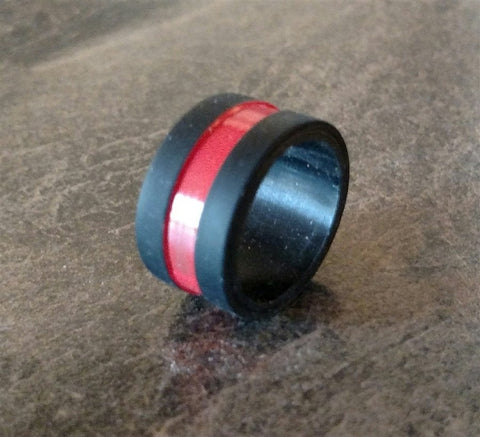 Ring - Red Line Silicone Ring (BOGO)