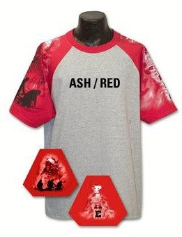 Red Fire Theme Shirts - FrontLine Designs, LLC