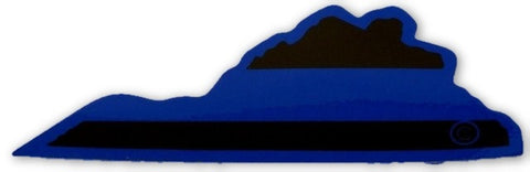 Virginia State Blue Line Decal - FrontLine Designs, LLC