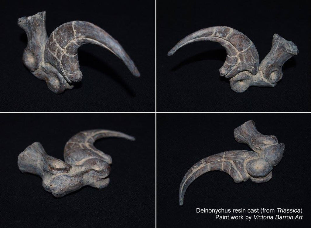 How to Paint Raptor Claws like Real Fossils