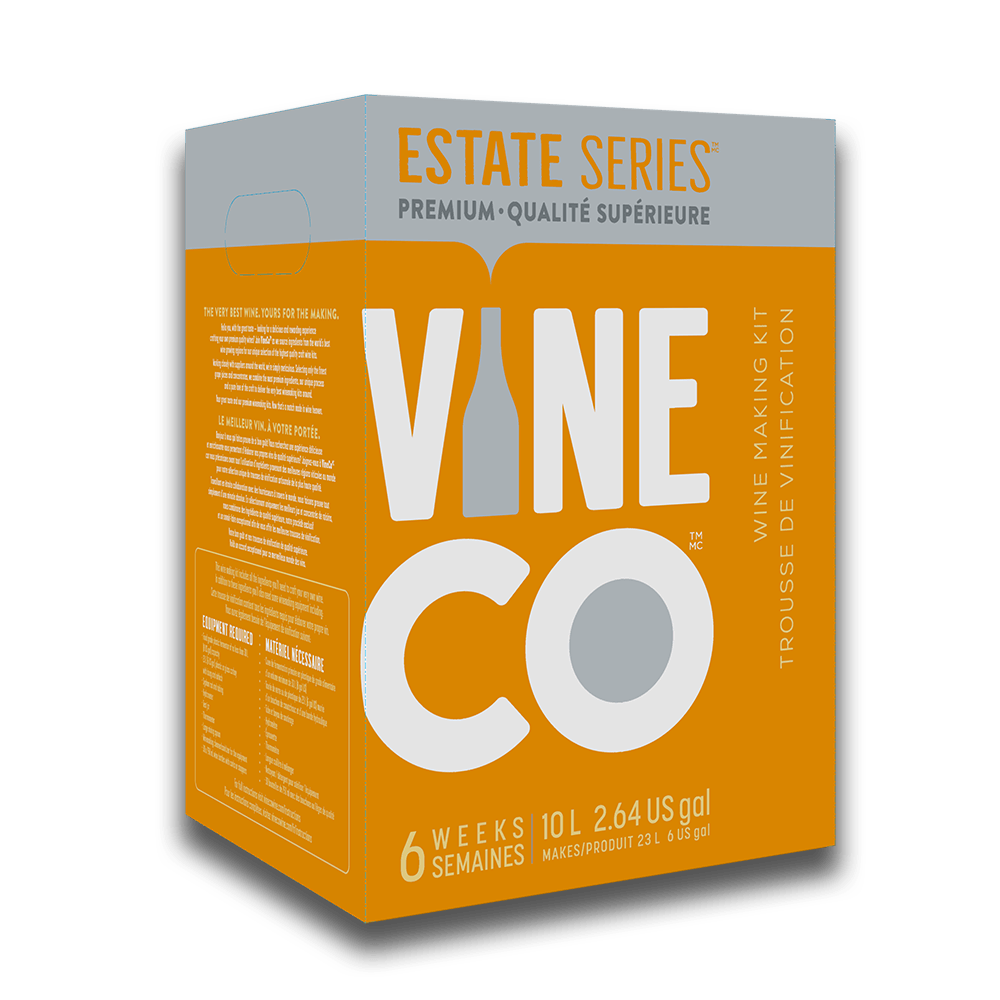 PREMIUM WINE KITS - Cabernet Merlot, California - Red Estate Series Wine Kit