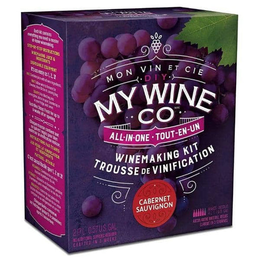 4 WEEK WINE KITS - Cabernet Sauvignon - Red DIY My Wine Co Wine Kit