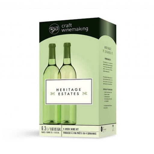 4 WEEK WINE KITS - California White - White Heritage Estates Wine Kit