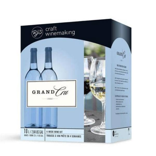 4 WEEK WINE KITS - Pinot Grigio Style - White Grand Cru Wine Kit