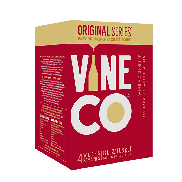 4 WEEK WINE KITS - Tempranillo, Spain - Red Original Series Wine Kit
