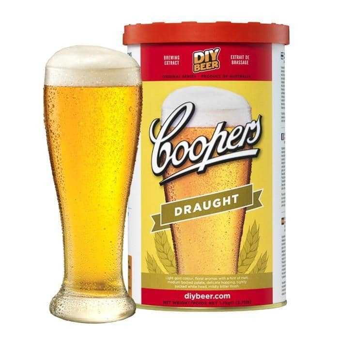 BEER KITS - Coopers Draught Lager