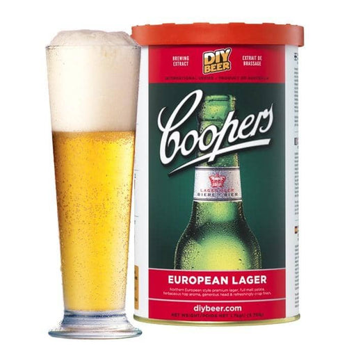 BEER KITS- Coopers European Lager