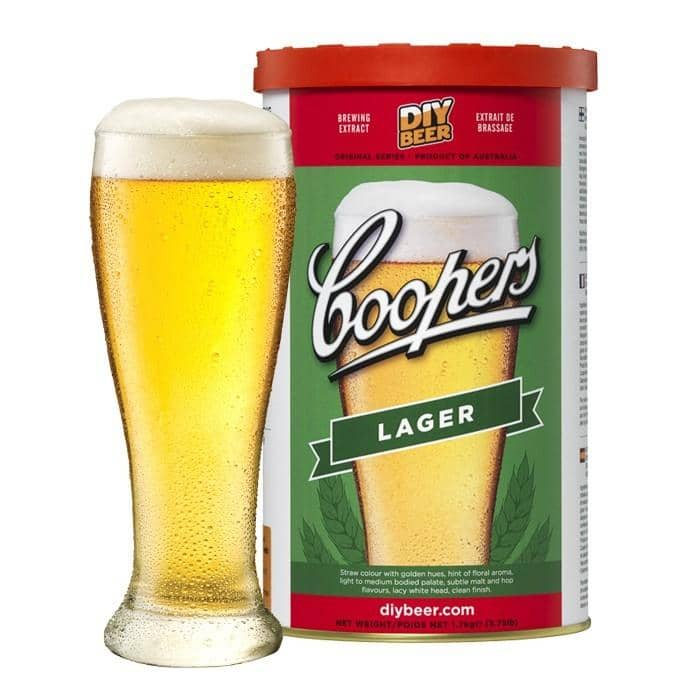 BEER KITS- Coopers Lager