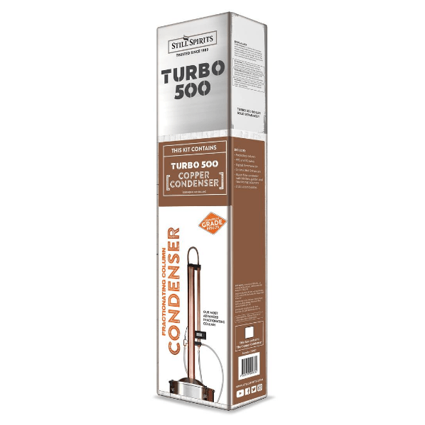 T500 Reflux Column Condenser - Copper