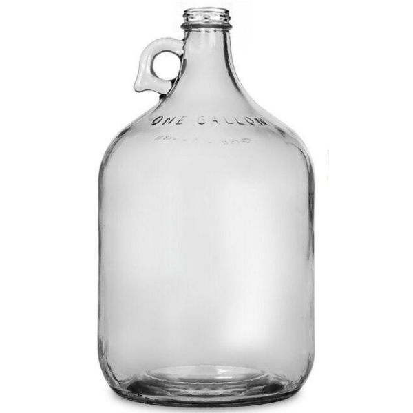 4 Liter (1 US Gallon) Glass Jug